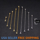 Kyпить Stainless Steel Necklace Bracelet Extension Extender Chain Jewelry 3