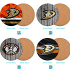 Anaheim Ducks Wood Coaster Coffee Cup Mat Mug Pad Table Decor $3.99 USD on eBay