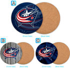 Columbus Blue Jackets Wood Coaster Coffee Cup Mat Mug Pad Table Decor $3.99 USD on eBay