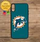 Miami Dolphins Phone Case for iPhone Galaxy 5 6 7 8 9 X XS Max XR $19.9 USD on eBay