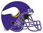 Minnesota Vikings Helmet Decal ~ Car / Truck Vinyl Sticker - Wall Graphics $6.99 USD on eBay