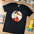 VTG rare Bettie Page Devil girl Olivia LG shirt top reprint limmited edition