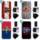 Florida Panthers Leather Case For iPhone X Xs Max Xr 7 8 Plus Galaxy S9 S8 $8.99 USD on eBay