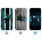 San Jose Sharks Leather Case For iPhone X Xs Max Xr 7 8 Plus Galaxy S9 S8 $7.99 USD on eBay