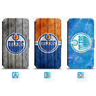 Edmonton Oilers Leather Case For iPhone X Xs Max Xr 7 8 Plus Galaxy S9 S8 $7.99 USD on eBay