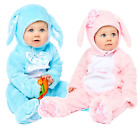 Baby Boys Girls Blue Pink Bunny Rabbit Easter Animal Fancy Dress Costume Outfit