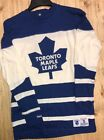 Vintage Hockey Mitchell Ness Toronto Maple Leafs Long Sleeve Shirt Various Sizes $50.0 USD on eBay