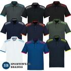 Mens Galaxy Polo Shirt Sports Casual Cool Dry Breathable Work Top Golf P900