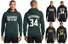 New Giannis Antetokounmpo Hoodie Milwaukee Bucks Hooded Sweatshirt Jersey