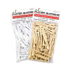 "3 1/4"" Player Supreme Premium Wood Golf Tee - 100 Pack (White or Natural)"