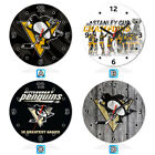 Pittsburgh Penguins Sport Wooden Wall Clock Home Office Decoration