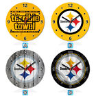 Pittsburgh Steelers Terrible Towel Wooden Wall Clock Home Office Decoration
