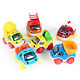 Baoli Pull Back Car Toy Contruction Truck Vehicle Play Set Pack of 6 Pieces