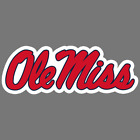 Ole Miss Rebels NCAA Football Vinyl Sticker Car Truck Window Decal Laptop Yeti
