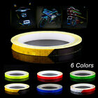 For Bike Car Motorcycle Wheel Reflective Sticker Rim Luminous Warning Decals 8m $2.43 CAD on eBay