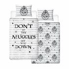 Official Harry Potter Licensed Duvet Covers Single/Double Muggles Hogwarts Charm