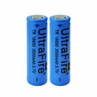 18650 flat top battery 3000mAh High Drain Rechargeable for Vape Battery+Charger