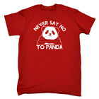 Funny Kids Childrens T-Shirt tee TShirt - Never Say No To Panda
