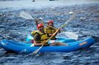 Inflatable Commercial Grade PVC White Water River Raft Kayak Canoe W/ Pump NEW