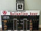 Connie Mack Stadium Scoreboard Vintage Philadelphia Phillies Sign Shibe Park