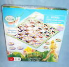 FROZEN JENGA or DISNEY Fairies Tinkerbell CHECKERS Tic-Tac-Toe BOARD GAME 2 in 1