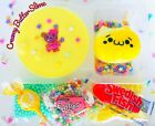Cute Bento Scented Creamy Butter Slay Slime With Squishy+1 Free Slime