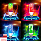 US 4 Mode E27 Color Fire LED Effect Light Bulb Flickering Flame Room Party Decor