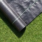 100g 2m wide 100m Long weed control fabric ground cover membrane Driveway Garden