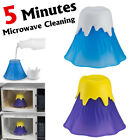Microwave Cleaning Oven Cleaner Plastic Volcano Shape Home Kitchen Gadget Tool !