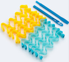 12/48 Water Wave Magic Curlers Formers Leverage Spiral Hairdressing Tool 25-65cm
