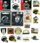 Chargers Vintage Pin Choice 9 Pins Some new on card San Diego Los Angeles NFL $4.5 USD on eBay