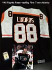 NEW Eric Lindros Philadelphia Flyers Mens 1997 Stanley Cup Finals Retro Jersey