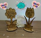 Personalised Mothers Day Gift Mothers Day Flower Mum Mummy Nana Grandma LOVE!
