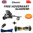 FREE Suspension Hoverkart With Hip Hop 8.5″ Bluetooth Hummer Segway Hoverboard