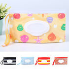 Baby Wipe Clutch Carrying Bag Wet Wipes Snap-strap Bag Pouch Wet Paper Container