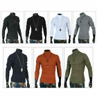 Mens Casual Turtle Neck Pullover Sweaters Basic Turtleneck Made in Korea 01