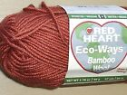 Red Heart Bamboo Wool Yarn - Single Skeins - Great for Felting - 3 Color Choices