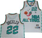 Portland Trail Blazers Clyde Drexler 1996 All Star Adidas Swingman Jersey $120 on eBay