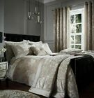 Catherine Lansfield Mink Crushed Velvet Quilt Cover Bedding Set & Accessories  image