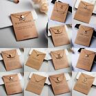 Fashion Gold Chain Inifity Owl Choker Collar Clavicle Card Necklace Women Gift