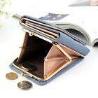 Wallet Women Lady Short Crown Money Purse Small Fold Pu Leather Coin Card Holder image
