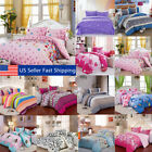 All Size Duvet Cover with Pillow Case Quilt Cover Bedding Set Single Double King image