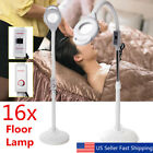 16x Magnifying Diopter Rolling LED Lamp Light Skin Care Facial Salon Equipment