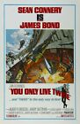"""You Only Live Twice (1967) Movie Silk Fabric Poster 27""""x40"""" 24""""x36"""" 11""""x17"""" $12.06 CAD on eBay"""