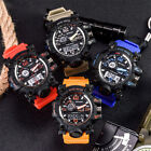 Sports Men Digital Wrist Watches LED Military Outdoor Waterproof Watch Quartz image