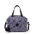 Kipling Miyo Printed Lunch Bag Glistening Poppy Blue