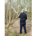 Barnel Professional Compact Telescopic Pole Saw 5ft - 12ft Lopper Tree Prune Cut