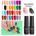146 Colores LILYCUTE Nail Art Esmaltes de uñas UV Gel Multicolor Manicura 7ml
