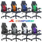 Swivel Office Racing Sport Gaming Style Tilt Pu Leather Mesh Computer Desk Chair