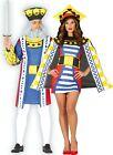 Couples Ladies AND Mens Playing Card Royalty Vegas Fancy Dress Costumes Outfits